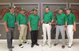 Pukulan Bola Asap Buka Ajang Bisnis Indonesia Executive Golf Tournament 2018