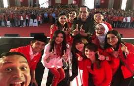 HUT PSI, Jokowi: Indonesia Maju, Bukan Bubar
