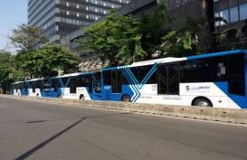 Bus Transjakarta Gratis selama Revitalisasi JPO Polda