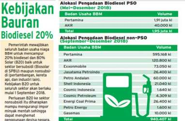 Sri Mulyani: Kebijakan B20 Belum Efektif Turunkan Impor Solar