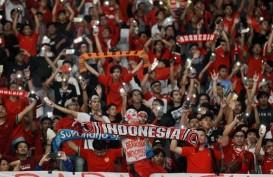 Yel-yel dari Suporter Indonesia Terdengar di Stadion Rajamangala