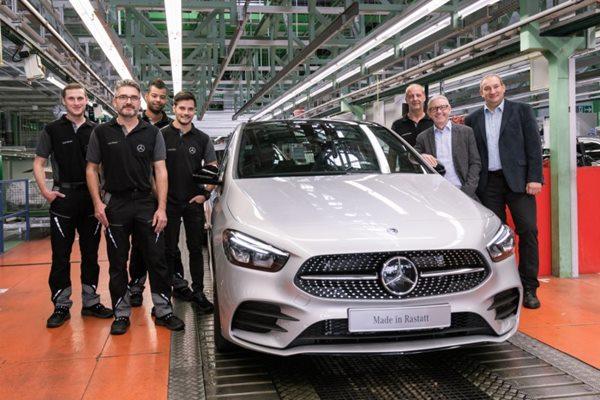 Mercedes-Benz Werk startet Produktion der neuen B-Klasse Mercedes-Benz Rastatt plant starts production of the new B-Class (Daimler AG - Daimler AG / Global Communicatio).