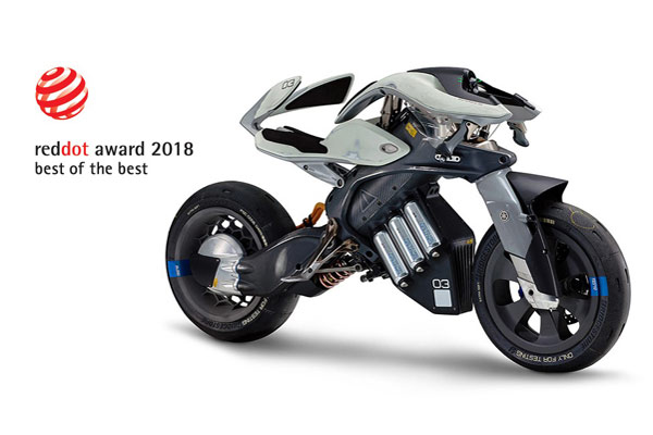 Yamaha MOTOROiD. - Yamaha