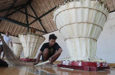 Begini Prosesi Arak-Arakan Gunungan Sekaten Keraton Yogyakarta Rabu 21/11