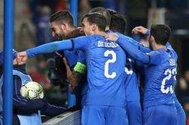 Gol Menit Terakhir Waktu Tambahan, Italia Sikat Amerika…