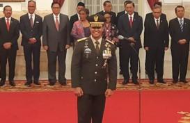 Presiden Jokowi Lantik Andika Perkasa Jadi KSAD