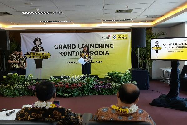 Grand Launching Kontak Prodia di Bandung/Bisnis - Dara Aziliya