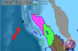 Gempa Bumi di Perairan Barat Aceh Tidak Berpotensi Tsunami