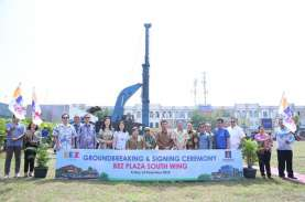 Paramount Land Ground Breaking Area Komersial di Gading…
