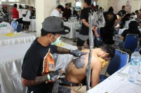 Perkuat Bisnis, Seniman Tato di Bali Gelar Tattoo…