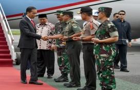 Jokowi Hadiri Apel Danrem-Dandim Terpusat 2018 di Bandung