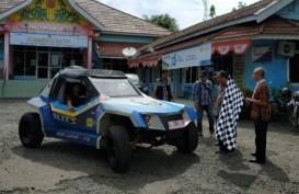 Blits, Mobil Listrik Budi Luhur-ITS Jelajah 1.605 KM Surabaya-Bengkulu