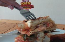 Waralaba Jajanan Kekinian Roti John Tawarkan Harga Khusus Akhir Tahun