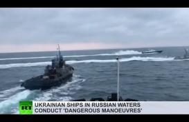 Krisis Krimea: Rusia Tolak Imbauan Internasional untuk Lepas Kapal Ukraina