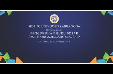 Harry Azhar Aziz, Mantan Ketua BPK Jadi Guru Besar FEB Unair ke-24