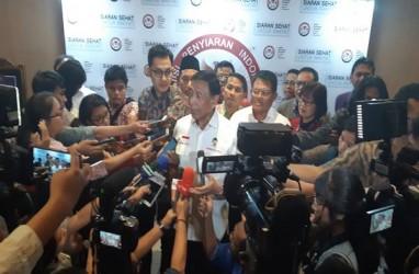 Menko Wiranto Usul UU Penyiaran Direvisi
