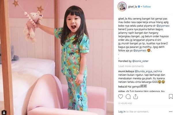 Gempita Nora Marten - Instagram @gisel_la
