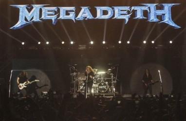 Megadeth Lelang Gitar untuk Korban Bencana Palu dan Donggala