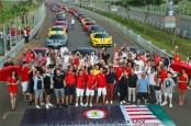 Komunitas Ferrari Jajal Sirkuit BSD dalam Track Day 2018