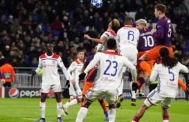 Hasil Liga Champions: Ditahan Lyon 2 - 2, ManCity ke 16 Besar