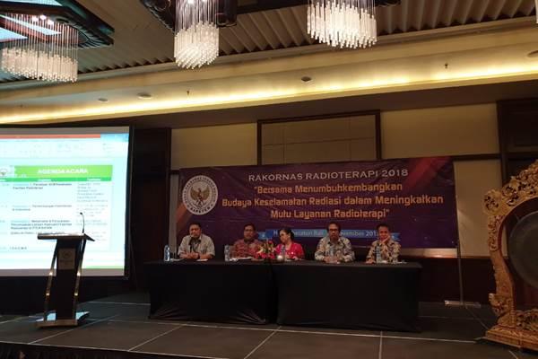 Rapat Koordinasi Nasional Radioterapi di Denpasar - Istimewa