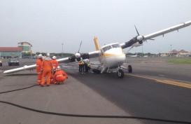 Landing Gear Roda Kanan Patah, Airfast Rute Surabaya-Bawean Batal Terbang