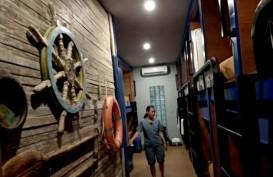 Hotel Kapsul d'Gobers Bidik Wisatawan Backpackers di Bali