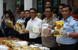 Polisi Amankan 50 kg Narkoba dari Bandar Jaringan Internasional