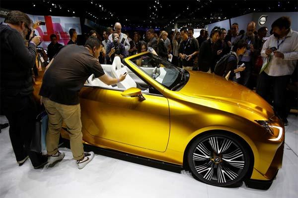 Los Angeles Auto Show 2018.  - REUTERS