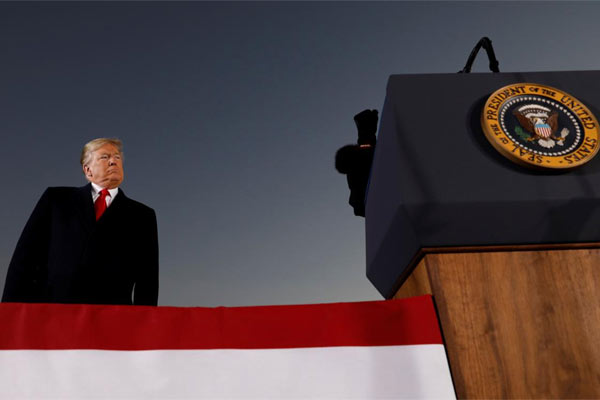 Presiden Amerika Serikat Donald Trump.  - REUTERS
