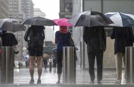 Cuaca Jakarta 29 November, Hujan Lebat Disertai Petir