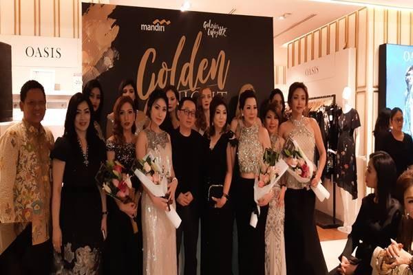 Galeries Lafayette Department Store memanjakan pengunjung melalui Golden Night pada Rabu (28/11/2018) di Pasific Place Mall, Jakarta. JIBI/BISNIS - Tika Anggreni
