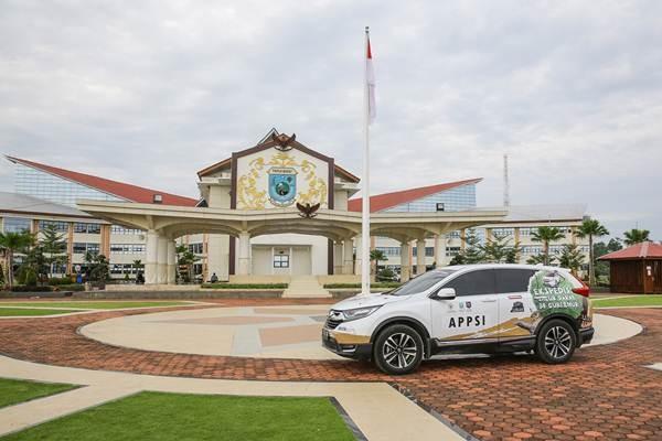 "Tim Ekspedisi ""Jelajah Nusantara bersama All New Honda CR-V Turbo"" tiba di Kota Manokwari pada 28 November 2018 - ist"