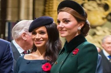 Begini Reaksi Kate Middleton Saat Ditanya Kehamilan Meghan Markle
