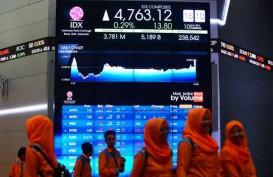 IHSG Melemah, Indeks Syariah Menguat Tipis di Akhir Sesi I