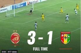 Sriwijaya FC vs Mitra Kukar 3-1, SFC Keluar dari Zona…