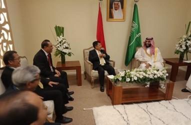 LAPORAN DARI ARGENTINA: Bertemu JK, Putra Mahkota Saudi Ingin Percepat Investasi Kilang Cilacap