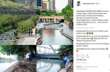 Ridwan Kamil : Kali Malang segera Jadi Kali Beruntung