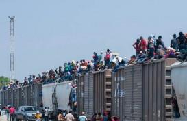 Dramatis, Begini Upaya Kaum Migran Menerobos Masuk Amerika Serikat