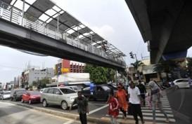 Anies Tinjau Revitalisasi JPO Ratu Plaza