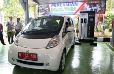 BPPT Resmikan SPLU, Mobil Listrik Mitsubishi Ikut Menjajal