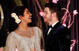 Wow, Kue Pernikahan Nick Jonas dan Priyanka Chopra Setinggi 5,48 Meter