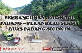 Tol Pekanbaru-Padang Ruas Bangkinang masih Tahap Penyusunan Trase