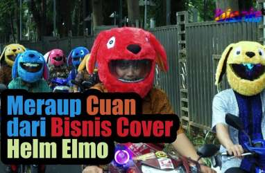 Meraup Cuan dari Cover Helm  Elmo and Friends