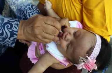 Dinkes Riau Minta Petugas Imunisasi MR Turun ke Pasar Tradisional