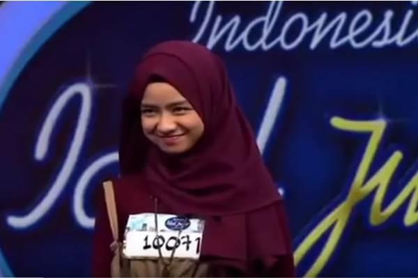 Video audisi Indonesian Idol Junior dari Nashwa Zahira - Youtube