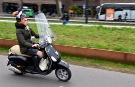 Perempuan Pesepeda Motor di AS Makin Marak