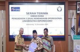 Bank Jateng Syariah Bantu 2 Mobiln Operasional Untuk Undip