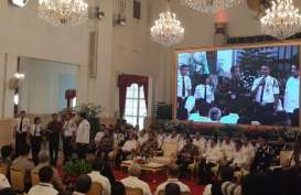 Ratusan Satpam Temui Presiden Jokowi di Istana Negara