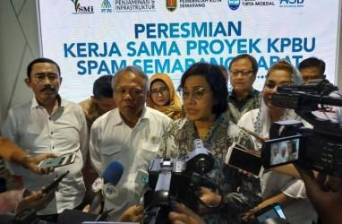 Proyek SPAM Semarang Barat Diresmikan Menkeu dan Menteri PUPR